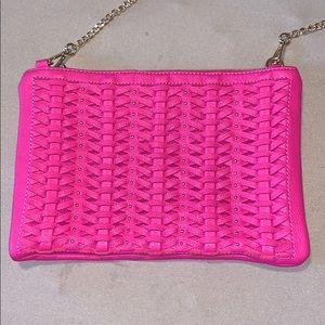 Hot pink STREET LEVEL Crossbody purse